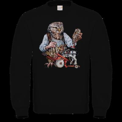 Motiv: Sweatshirt FAIR WEAR - Eulenschnitzer