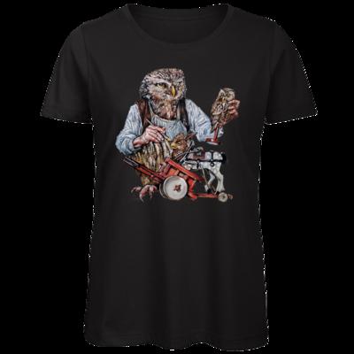 Motiv: Organic Lady T-Shirt - Eulenschnitzer