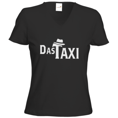 Motiv: T-Shirt Damen V-Neck Classic - Das Taxi