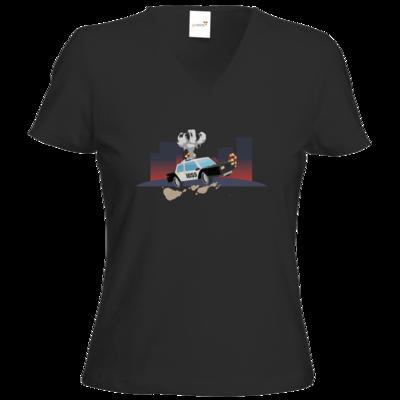Motiv: T-Shirt Damen V-Neck Classic - Cop1055