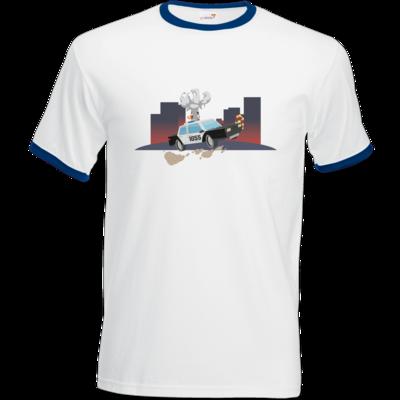 Motiv: T-Shirt Ringer - Cop1055