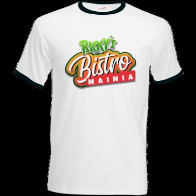 Motiv: T-Shirt Ringer - Rickys Bistro