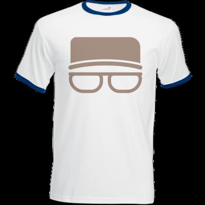 Motiv: T-Shirt Ringer - Kurt Simpel