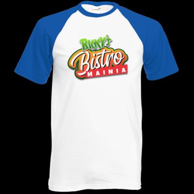 Motiv: TShirt Baseball - Rickys Bistro