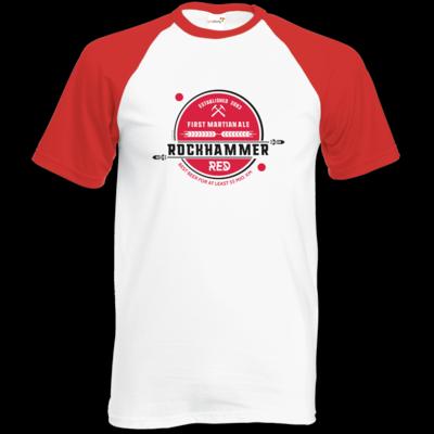 Motiv: Baseball-T FAIR WEAR - Rockhammer Red 2093