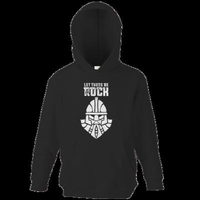 Motiv: Kids Hooded Sweat - Be Rock - Vintage