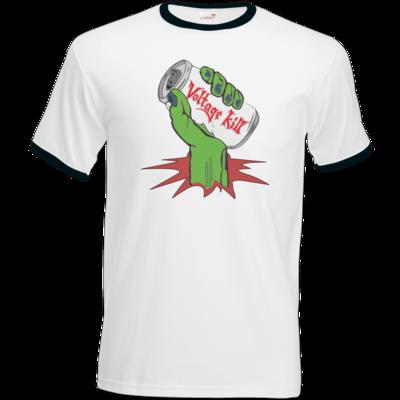 Motiv: T-Shirt Ringer - Beer