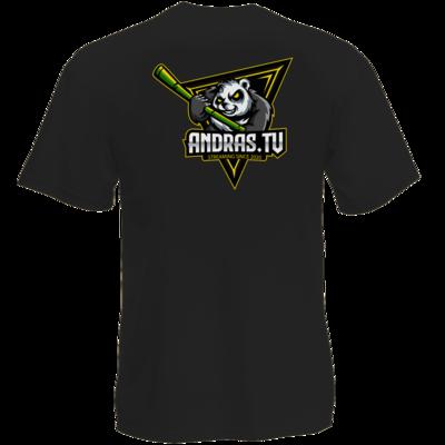 Motiv: T-Shirt Premium FAIR WEAR - Andras.tv Logo