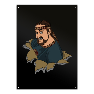 Motiv: Metallschild - Khatgar
