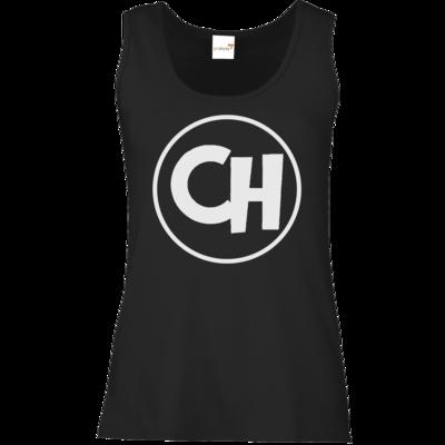 Motiv: Tank Top Damen Classic - Cheetah White Logo