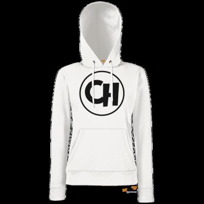 Motiv: Hoodie Damen Classic - Cheetah Black Logo