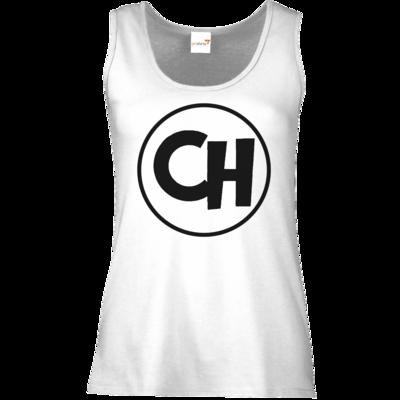 Motiv: Tank Top Damen Classic - Cheetah Black Logo