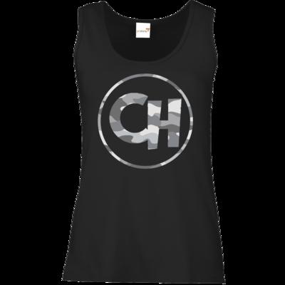 Motiv: Tank Top Damen Classic - Cheetah Camouflage Logo