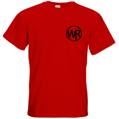 Motiv: T-Shirt Premium FAIR WEAR - WAGNER RECORDS LOGO WR schwarz