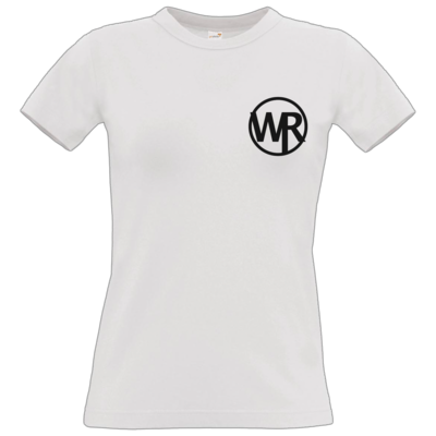 Motiv: T-Shirt Damen Premium FAIR WEAR - WAGNER RECORDS LOGO WR schwarz