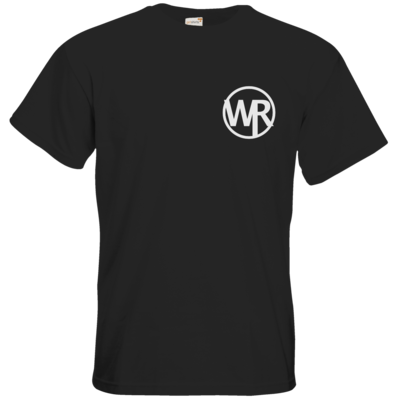 Motiv: T-Shirt Premium FAIR WEAR - WAGNER RECORDS LOGO WR weiss