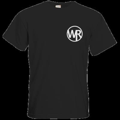 Motiv: T-Shirt Premium FAIR WEAR - WAGNER RECORDS LOGO WR weiss