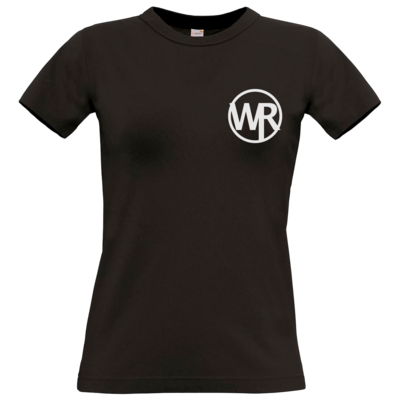 Motiv: T-Shirt Damen Premium FAIR WEAR - WAGNER RECORDS LOGO WR weiss