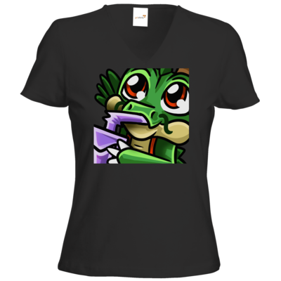 Motiv: T-Shirt Damen V-Neck Classic - Sip