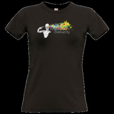 Motiv: T-Shirt Damen Premium FAIR WEAR - Veteran Community