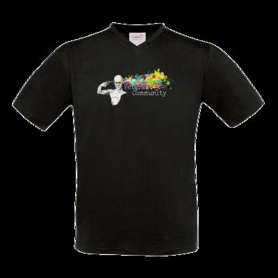 Motiv: T-Shirt V-Neck FAIR WEAR - Veteran Community