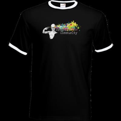 Motiv: T-Shirt Ringer - Veteran Community