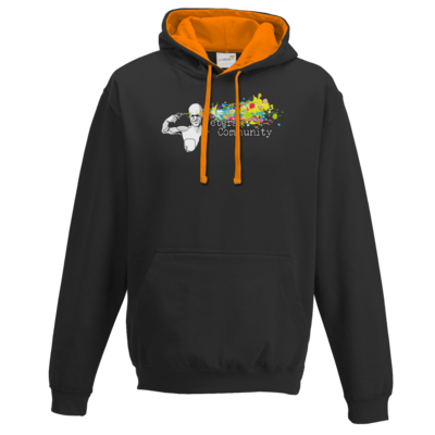 Motiv: Two-Tone Hoodie - Veteran Community
