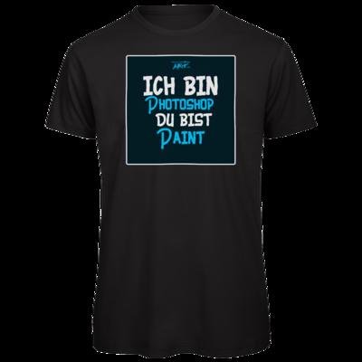 Motiv: Organic T-Shirt - ich bin Photoshop