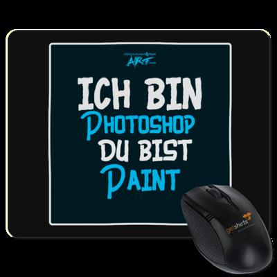 Motiv: Mousepad Textil - ich bin Photoshop
