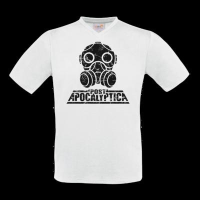 Motiv: T-Shirt V-Neck FAIR WEAR - PostApo