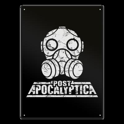 Motiv: Metallschild - PostApo
