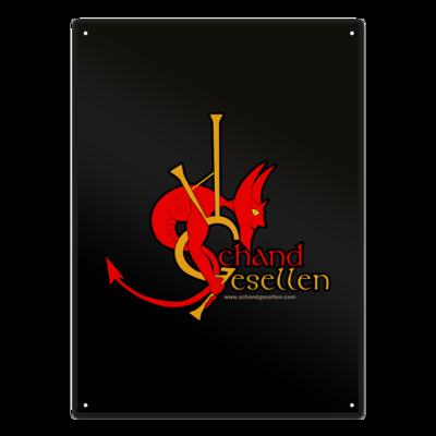 Motiv: Metallschild - Schandgesellen Classic