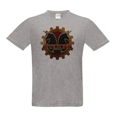Motiv: T-Shirt V-Neck FAIR WEAR - Steampunk