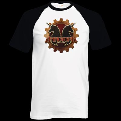 Motiv: TShirt Baseball - Steampunk