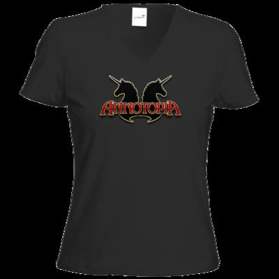 Motiv: T-Shirt Damen V-Neck Classic - ANNOTOPIA