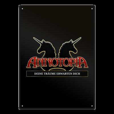 Motiv: Metallschild - ANNOTOPIA plus