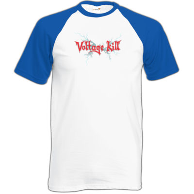 Motiv: TShirt Baseball - Lightning