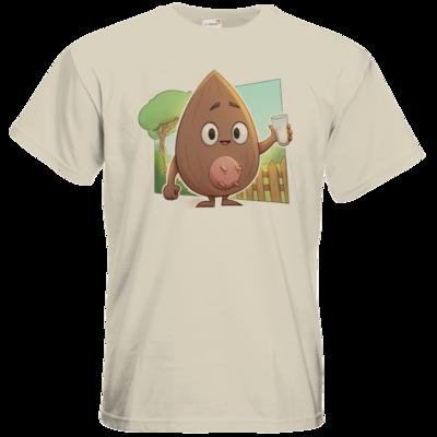 Motiv: T-Shirt Premium FAIR WEAR - Mandelnussmilch
