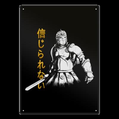 Motiv: Metallschild - Centurion Dunn