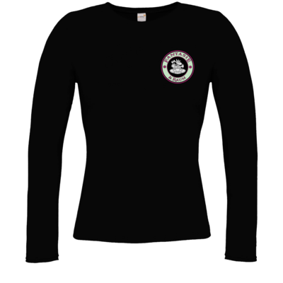 Motiv: Longsleeve Damen Organic - Shop-Logo