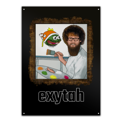 Motiv: Metallschild - exyross_exytah