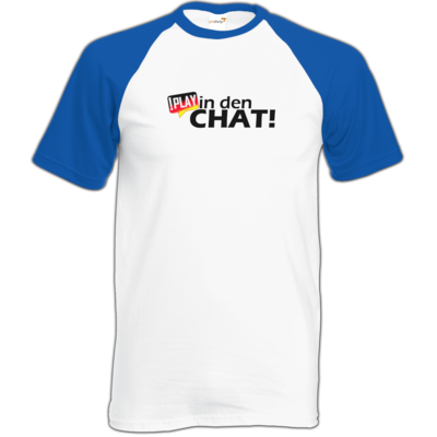 Motiv: TShirt Baseball - !play in den Chat
