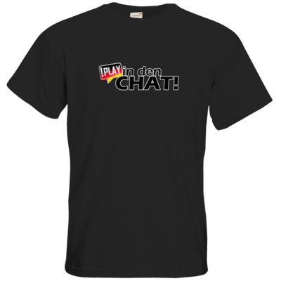 Motiv: T-Shirt Premium FAIR WEAR - !play in den Chat