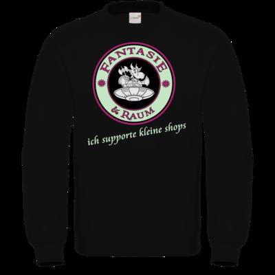 Motiv: Sweatshirt FAIR WEAR - ich supporte kleine Shops dunkel