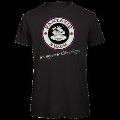 Motiv: Organic T-Shirt - ich supporte kleine Shops dunkel