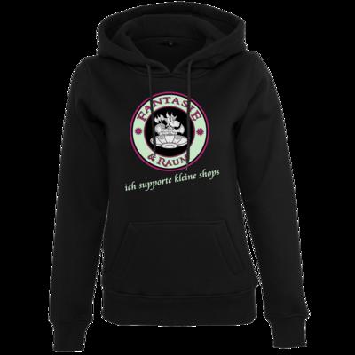 Motiv: Womens Heavy Hoody - ich supporte kleine Shops dunkel