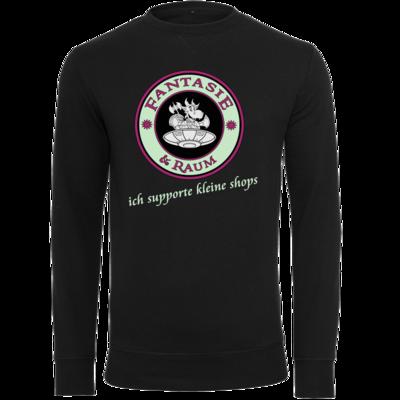 Motiv: Light Crew Sweatshirt - ich supporte kleine Shops dunkel