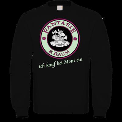 Motiv: Sweatshirt FAIR WEAR - Ich kauf bei Moni ein