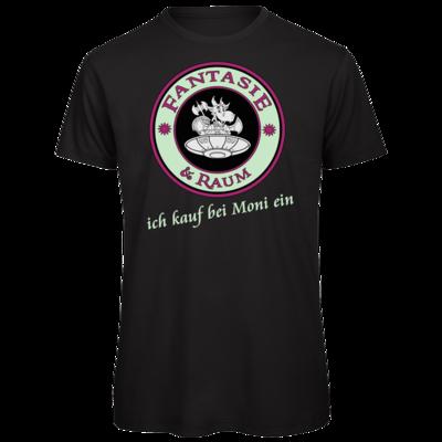 Motiv: Organic T-Shirt - Ich kauf bei Moni ein