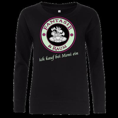 Motiv: Girlie Crew Sweatshirt - Ich kauf bei Moni ein